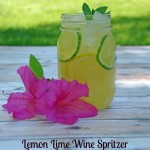 Lemon Lime Wine Spritzer and Brancott Estate Flight Song Wines #MC