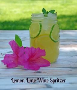 Lemon Lime WIne Spritzer Recipe