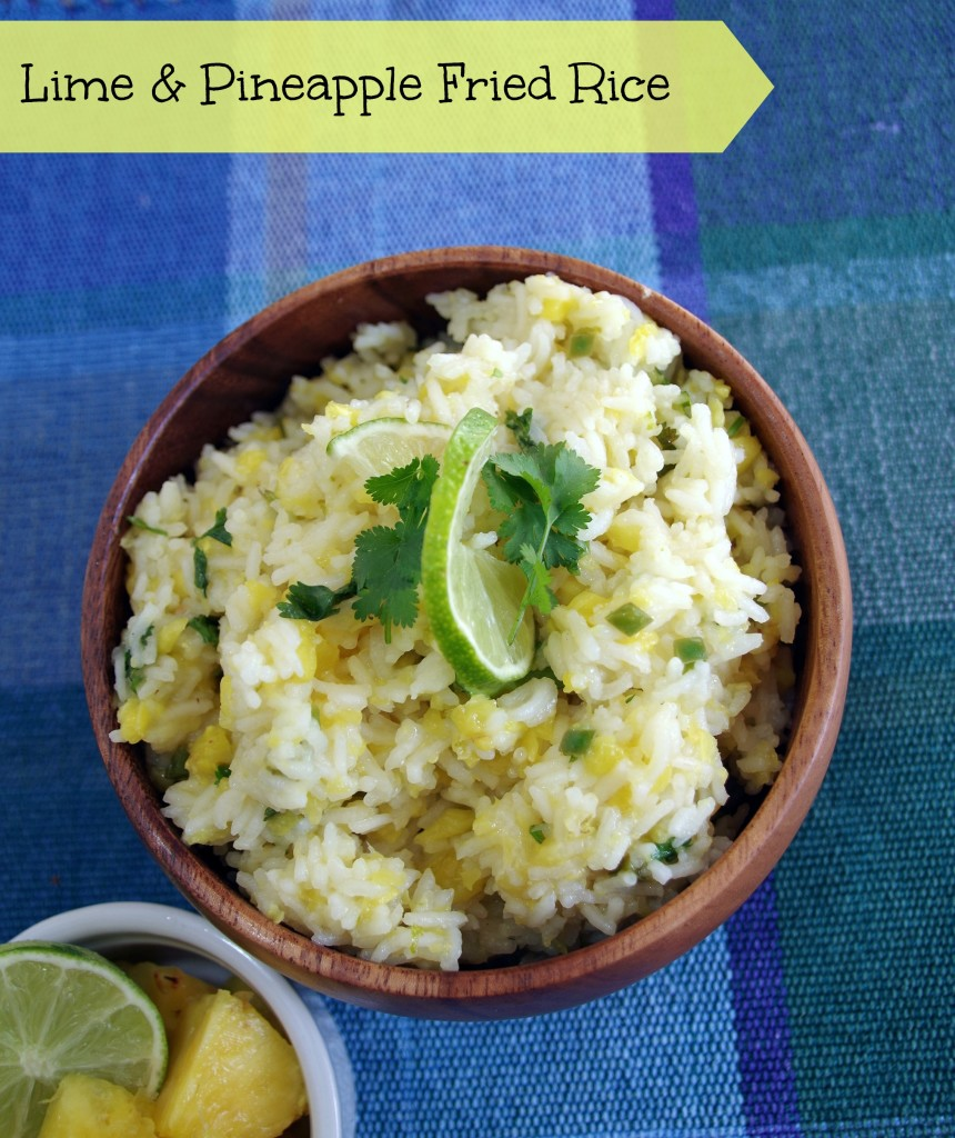 lime and pineapple fried rice 2