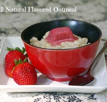 Easy DIY Flavored Oatmeal