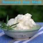 Easy DIY Rosemary Hair Mask for Dry Hair
