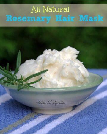 DIY Rosemary Hair Mask
