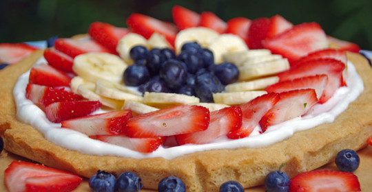 Easy Summer Dessert Recipe:  Simple Fruit Tart  #JuneFreshSavings