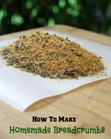 How to Make Homemade Breadcrumbs