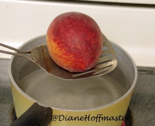 Easiest Way To Peel Peaches