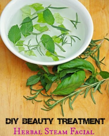 DIY Beauty Treatment Easy Herbal Steam Facial