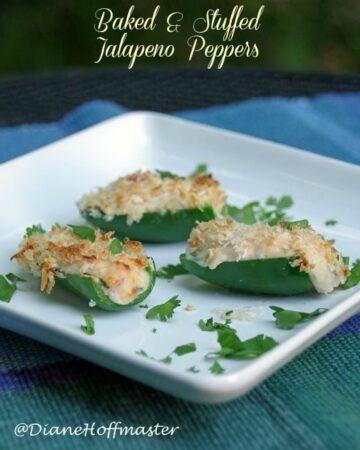 Easy Baked Stuffed Jalapeno Recipe