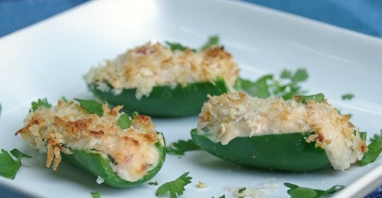 Easy Baked Stuffed Jalapeno Recipe