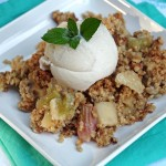 Apple Rhubarb Crisp Recipe 2