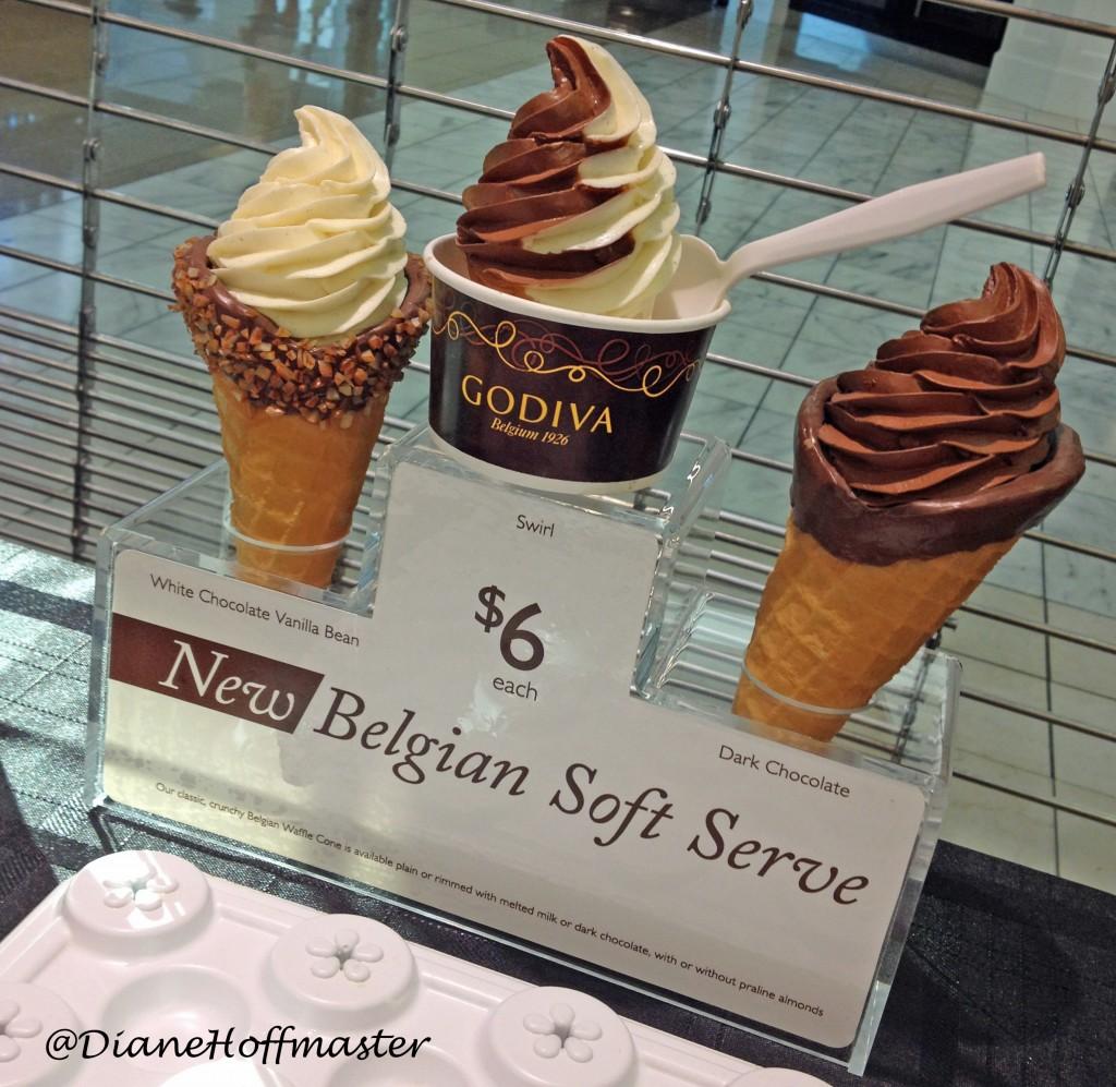 GODIVA soft serve #GODIVAsummer