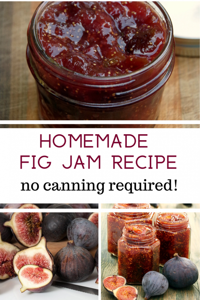 Homemade Fig Jam Recipe with No Canning Required
