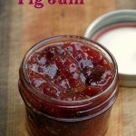 Fig jam is easy to make with no canning required!