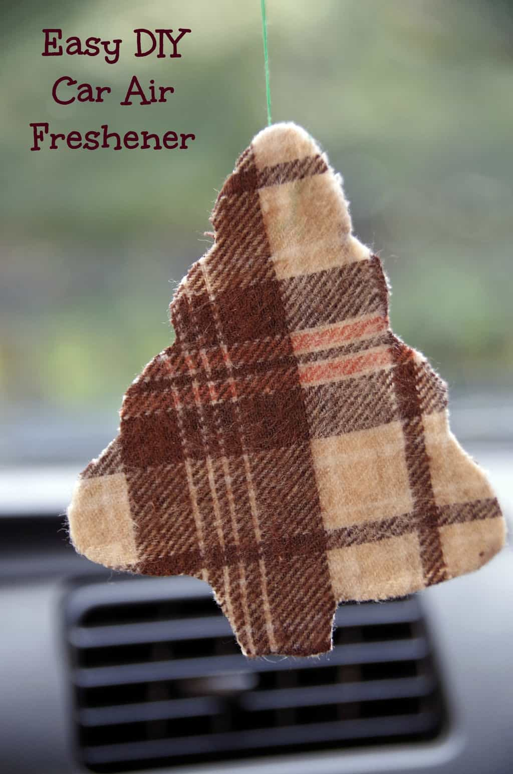 How to Make a Car Air Freshener - Suburbia Unwrapped
