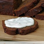 Molasses Pumpkin Bread with Candied Ginger