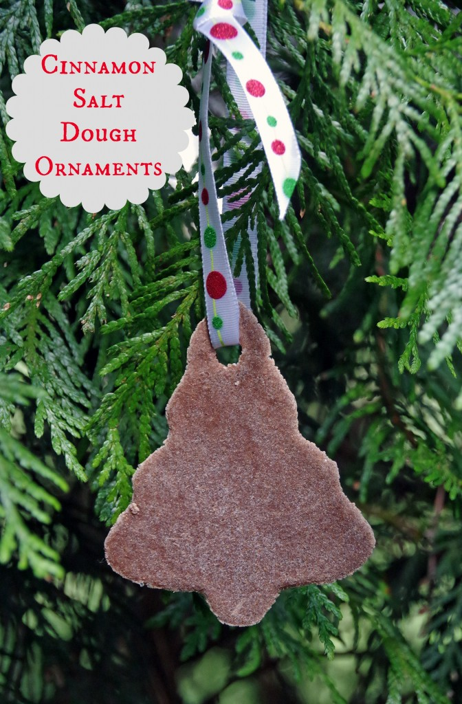 Salt Dough Christmas Ornaments
