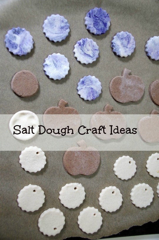Salt Dough Crafts Ideas