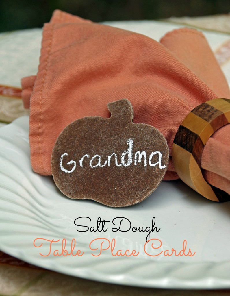 Salt Dough Place Card