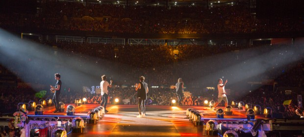 A One Direction Concert Wrapup from a Middle Aged Mom's Perspective
