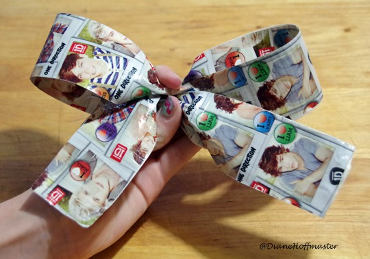 Duct Tape Hair Bow 3