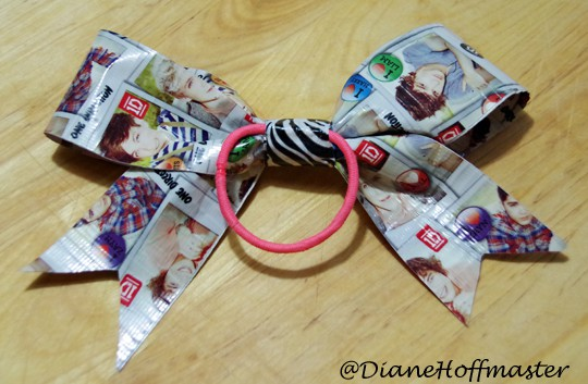 Duct Tape Hair Bow 4