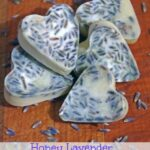 DIY Honey Lavender Bath Melts