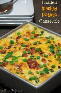 Loaded Mashed Potato Casserole Recipe
