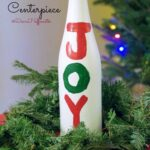 Frugal Christmas Centerpiece Idea for Your Holiday Table