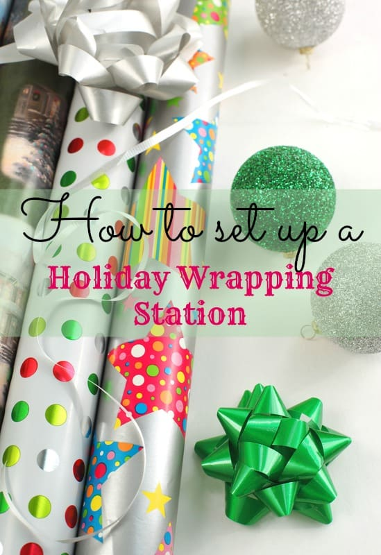 Gift Wrapping Station Ideas to Help Keep You Organized