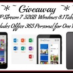 Christmas Giveaway!  Enter to win an HP Stream 7 Signature Edition Tablet!