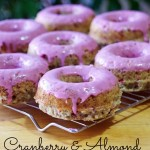 Cranberry Almond Donut Recipe for a Valentine's Day Treat