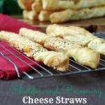 Rosemary and Cheddar Cheese Straws and the Beauty of Puff Pastry!