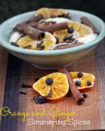 Orange Ginger Simmering Spices 3