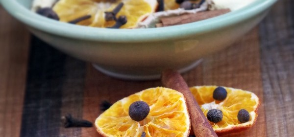 Orange and Ginger Simmering Spices