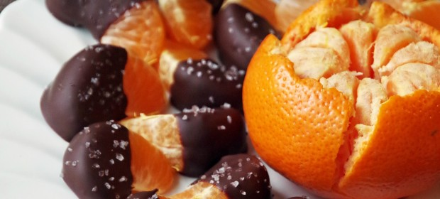 Chocolate Dipped Clementines Recipe