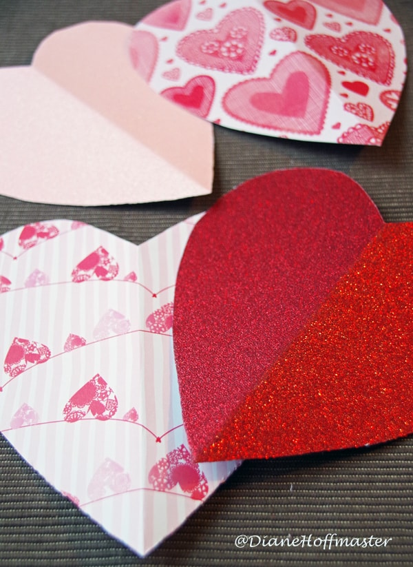 Easy Valentines Day Craft Idea with Paper