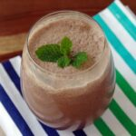Mocha Cappuccino Protein Smoothie Makes a Healthy Afternoon Snack