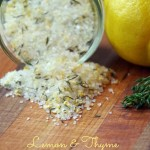 Lemon and Thyme Infused Sea Salt is the Perfect Seasoning for your Next Seafood Recipe!