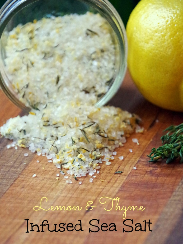 DIY Lemon and Thyme Infused Sea Salt Recipe