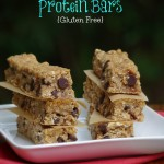 Almond Butter Protein Bars are gluten free and delcious! Makes a healty snack recipe for athletes or hungry kids!