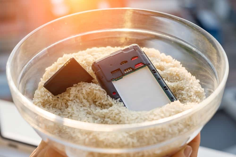 Using Rice to Fix Electronics