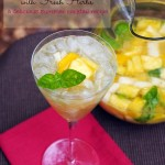 White Wine Sangria Recipe with Fresh Herbs is a delicious summer cocktail recipe