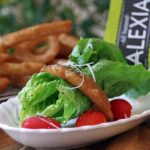 Onion Ring Salad Recipe with Lemon Herb Vinaigrette  #SpringIntoFlavor