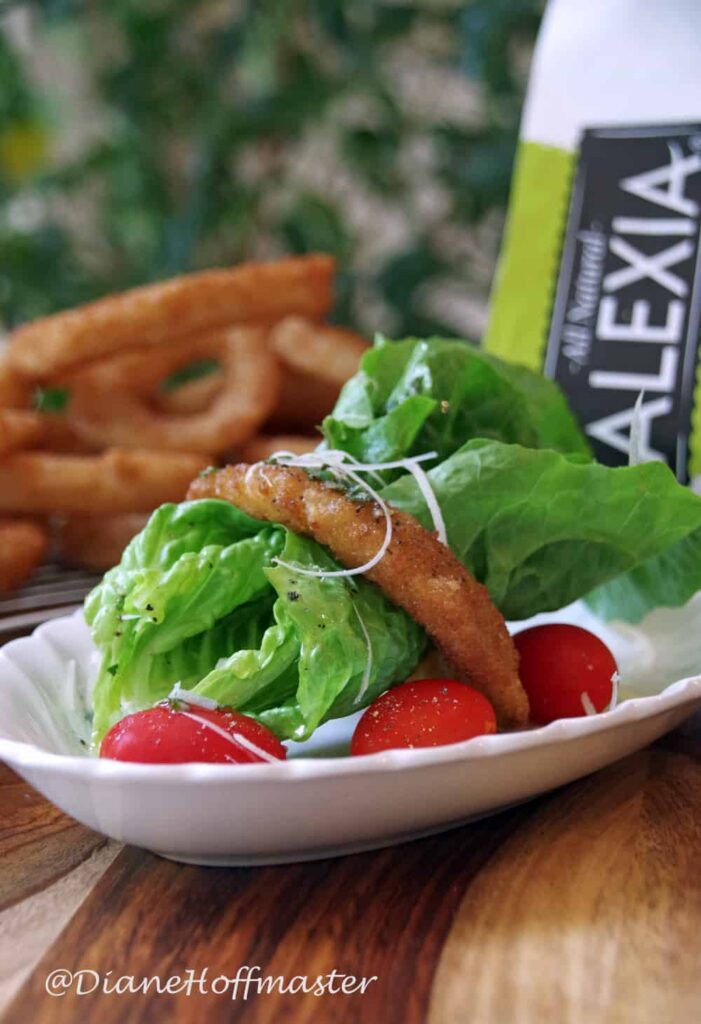 Onion Ring Salad Recipe andwith Lemon-Herb Vinaigrette #SpringIntoFlavor #CollectiveBias