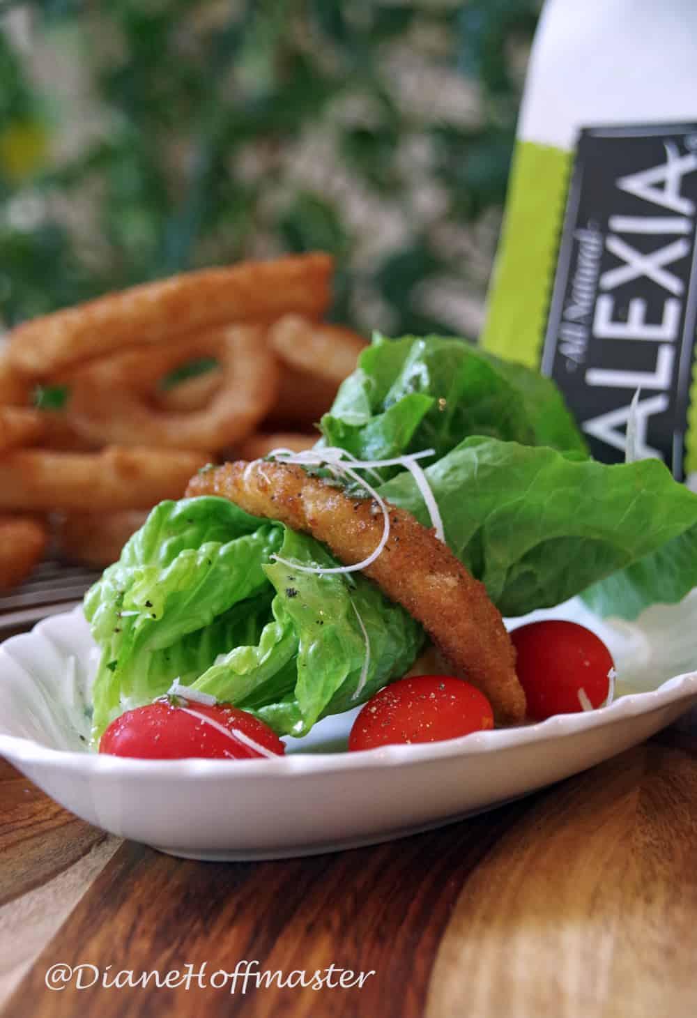 Onion Ring Salad Recipe andwith Lemon-Herb Vinaigrette #SpringIntoFlavor #CollectiveBias
