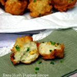 Easy Hush puppies Recipe with Corn and Jalapeno
