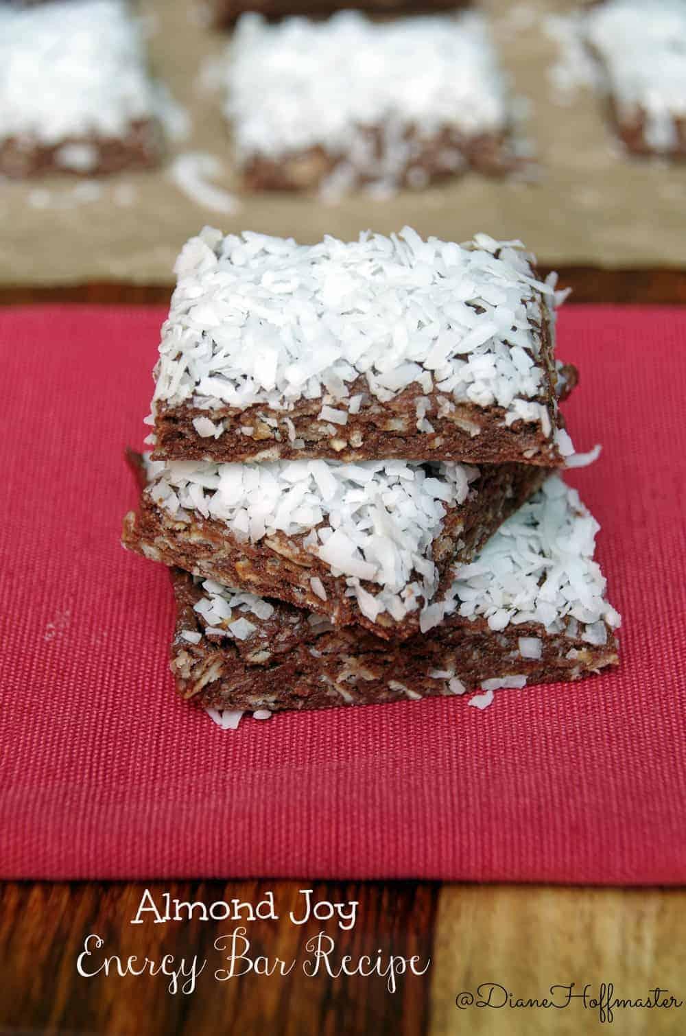 Almond Joy Energy Bar Recipe