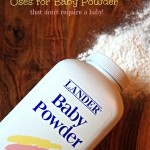 Uses For Baby Powder That Don't Require a Baby!