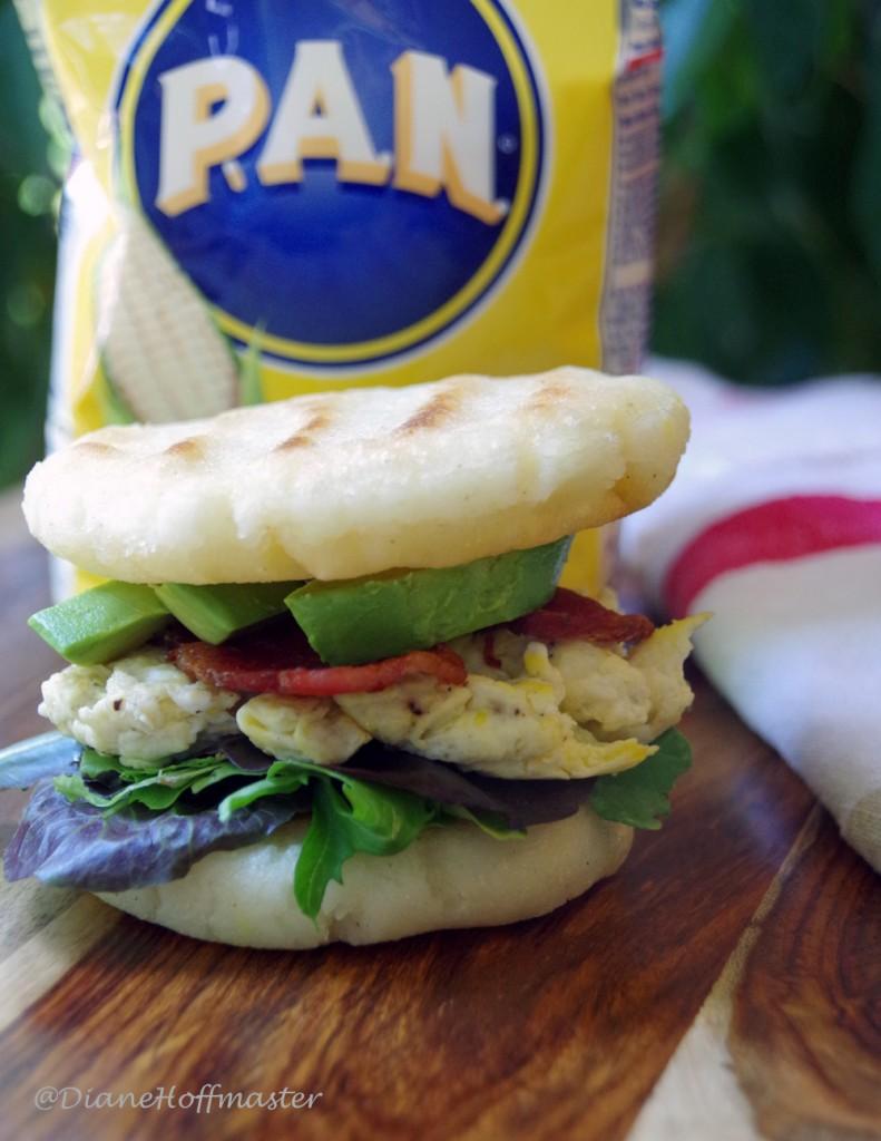 Arepas recipe for breakfast sandwich
