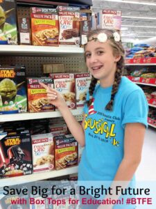 Earning Money For Your School WIth Box Tops for Education