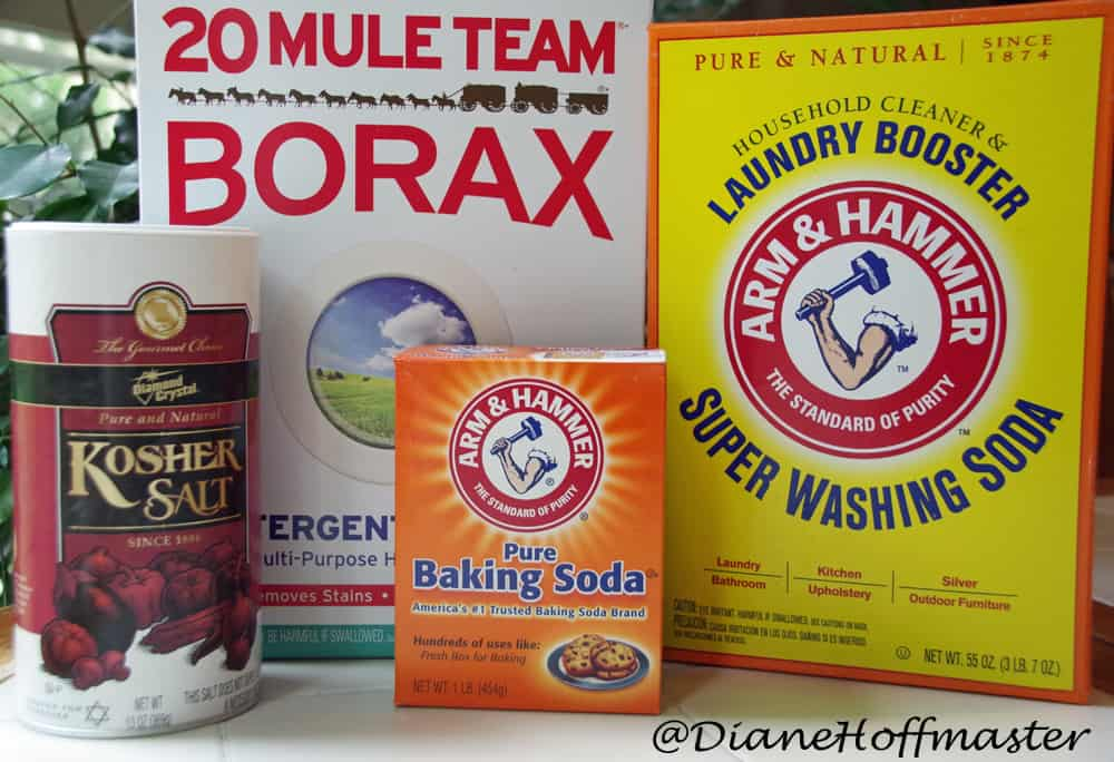 DIY Dishwasher Tablets ingredients